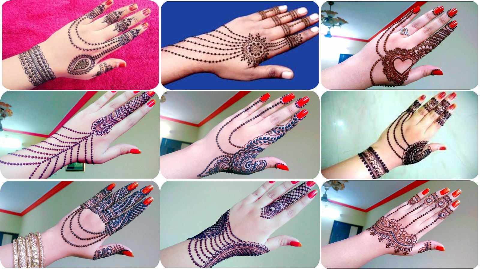 New Jewellery Mehndi Designs 2018 Latest Mehndi Designs