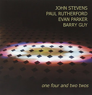 John Stevens, Paul Rutherford, Evan Parker, Barry Guy, One Four and Two Twos