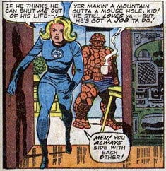 Lee-Kirby Fantastic Four 48
