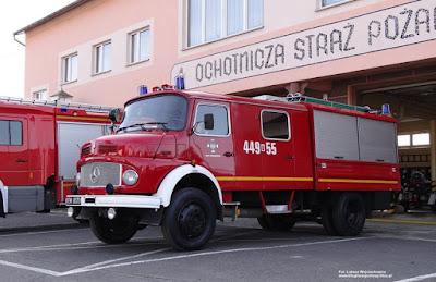 Mercedes-Benz LA 911, OSP Stradunia