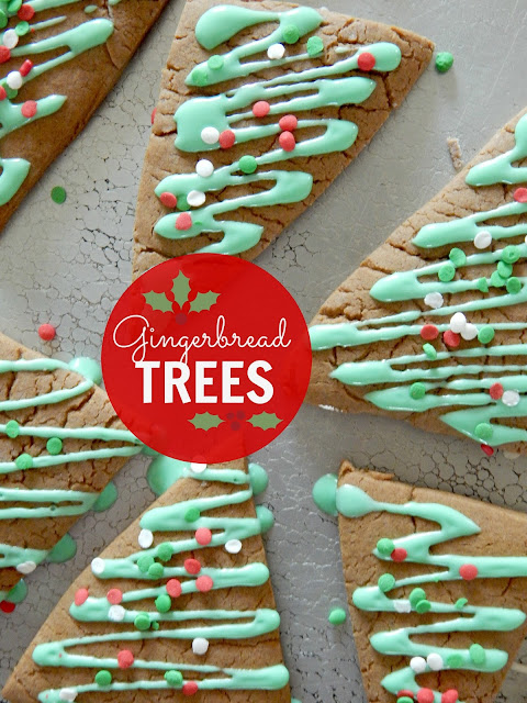 gingerbread trees (sweetandsavoryfood.com)