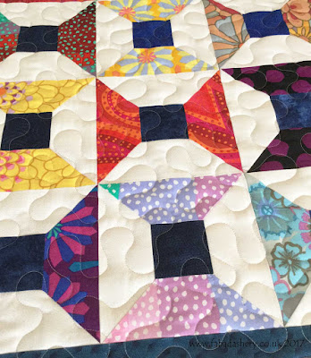 Cotton Reel Quilt by Natalie, quilted by Frances Meredith