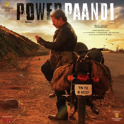 Power-Paandi-Tamil-2017 CD Front Cover HD