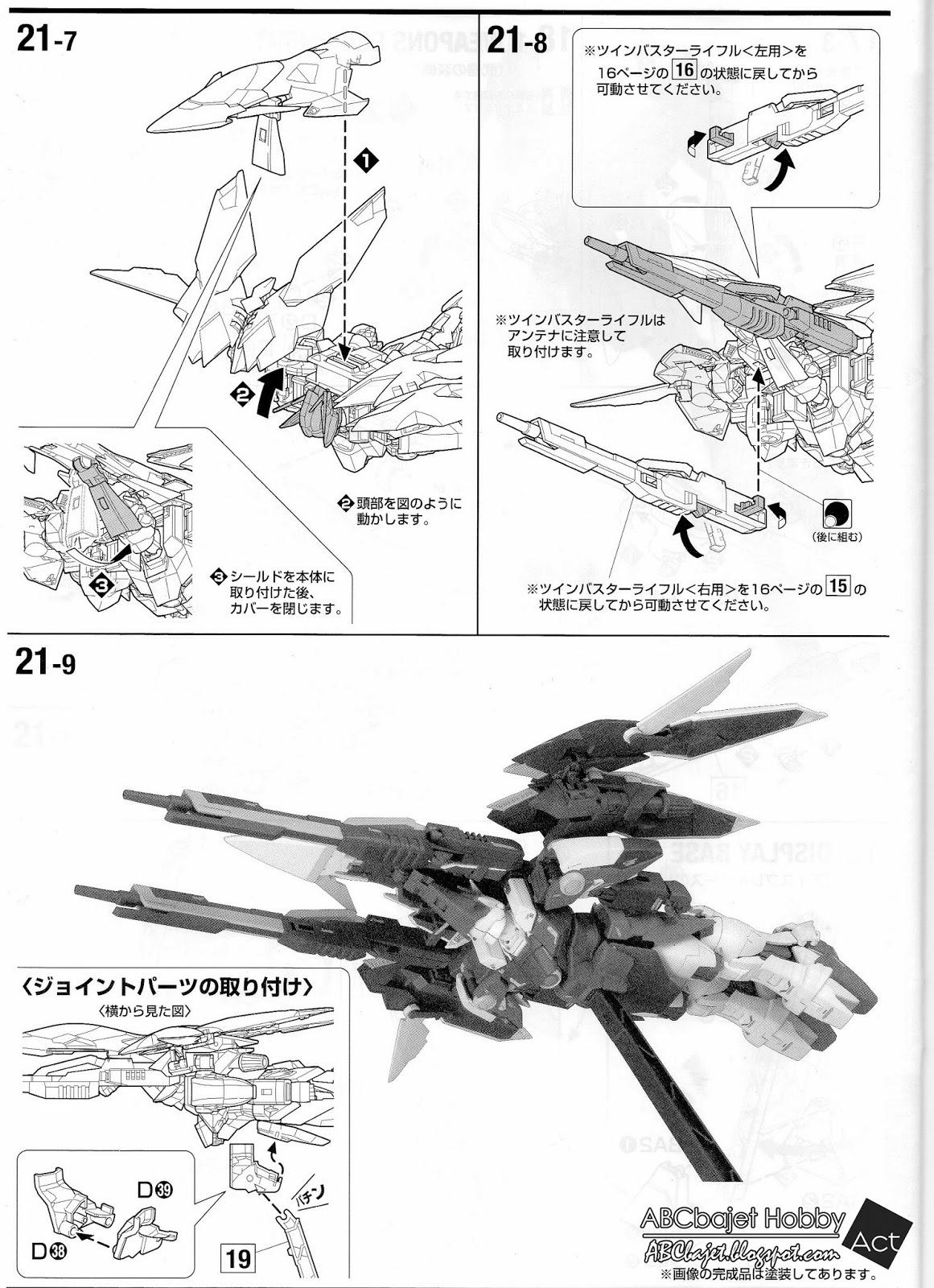 ABCbajet Hobby: WIP Part 2: Bandai MG 1/100 Wing Gundam
