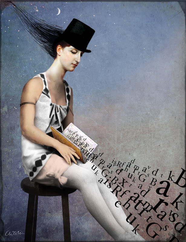 woman-reading-illustration-Catrin Welz Stein