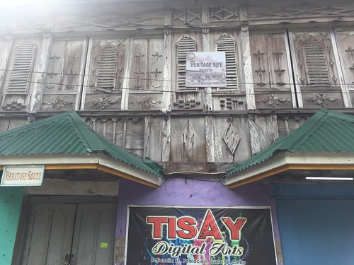 A heritage house in Bantayan Island
