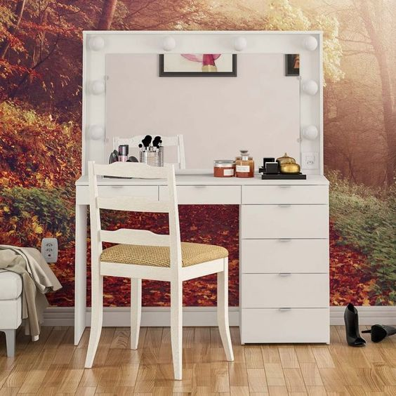 Best 50 modern dressing table designs for bedrooms 2019