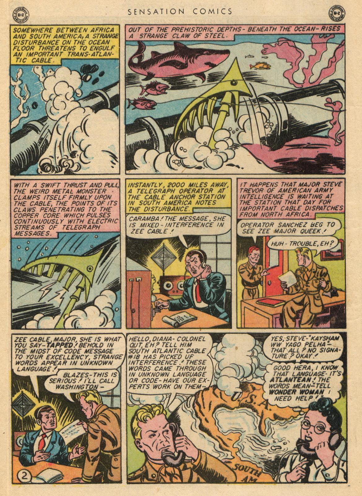 Read online Sensation (Mystery) Comics comic -  Issue #35 - 4
