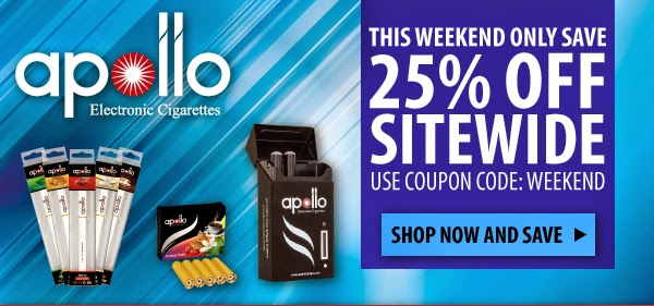 Apollo E-cigarette Coupon Code