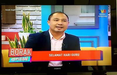 Cikgu Hailmi @ Borak Kopitiam TV3