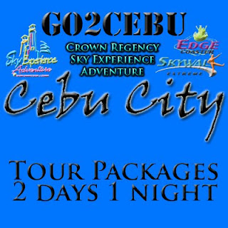 Cebu City + Crown Regency Sky Adventure in Cebu Tour Itinerary 2 Days 1 Night Package (Check-in at Shangri-La Mactan Resort & Spa)