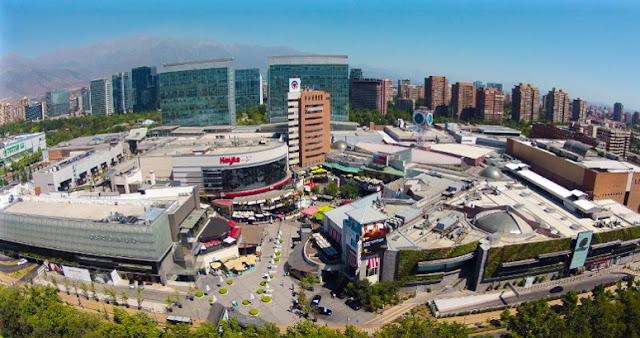 Onde fica o Shopping Parque Arauco