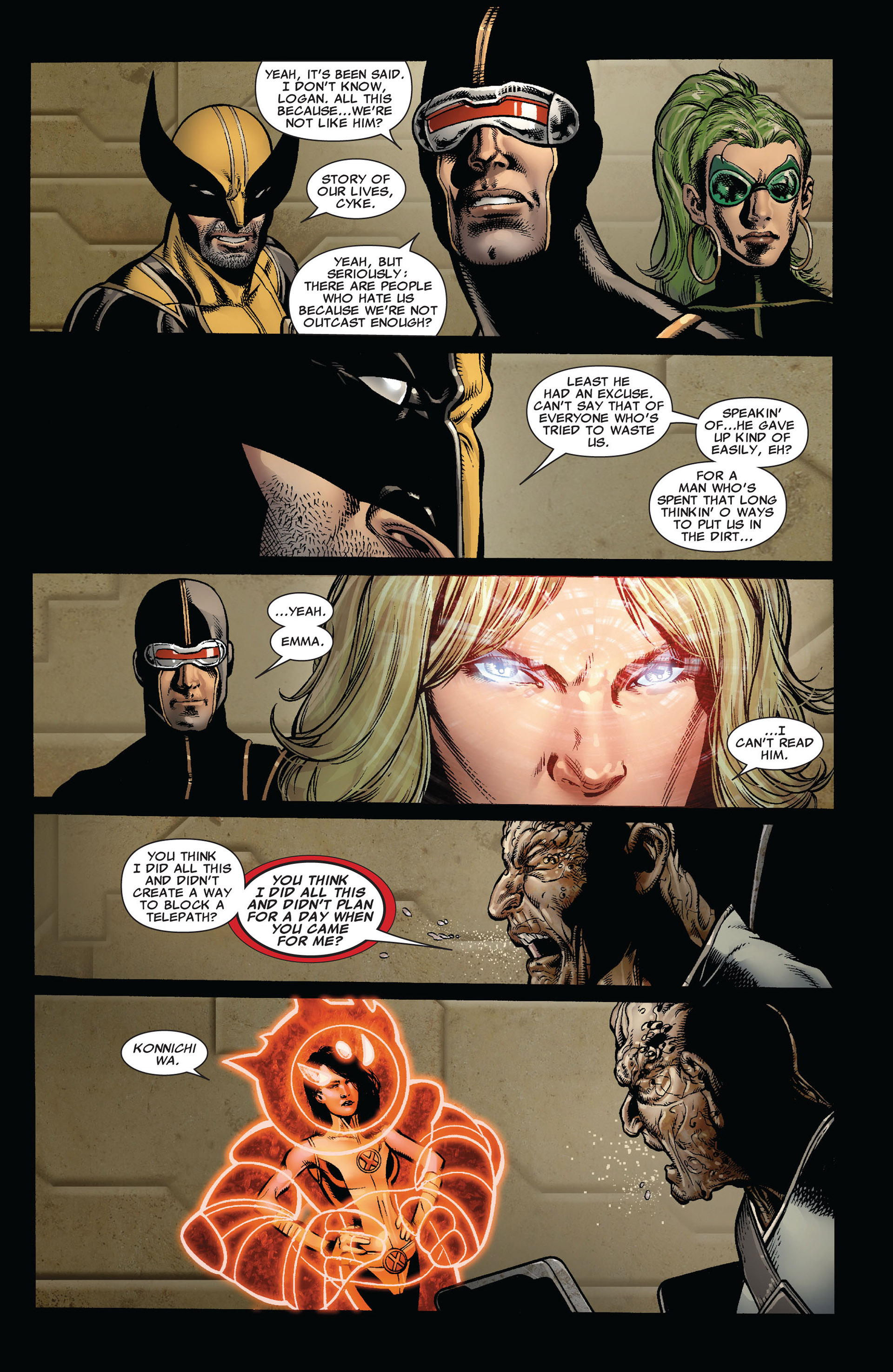 Read online Astonishing X-Men (2004) comic -  Issue #35 - 20