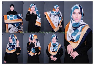 Inspirasi Cara Memakai Hijab Modern Syar'i Menutup Dada Namun Tetap Fashionable