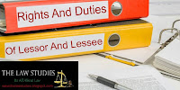 Rights and duties of lessor and lessee