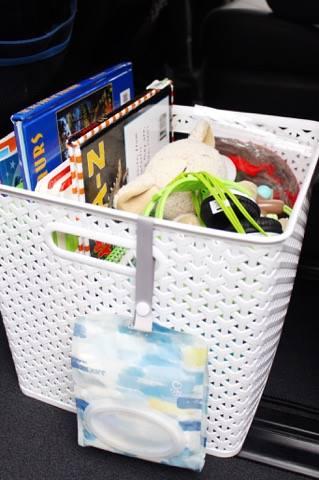 Car Organizer Kleenex Go Anywhere Pack