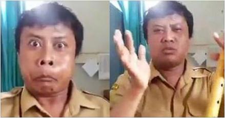 Video : Aksi Kocak PNS Bisa Tirukan Suara Setan Dan Semua Hewan Bakal Bikin Kamu Ketawa Ngakak