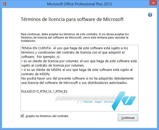AIO Microsoft Office Proffesional Plus 2013 Español