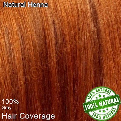 Natural Henna on Hair