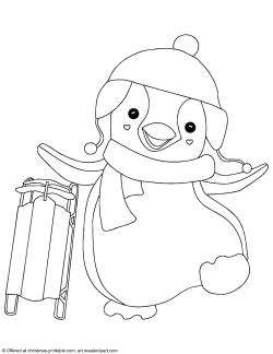 Penguin Coloring Pages | Minister Coloring