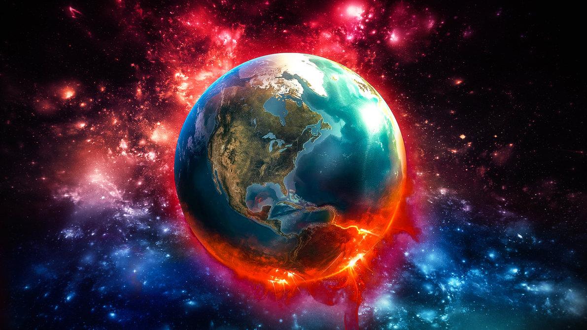 World on a boil