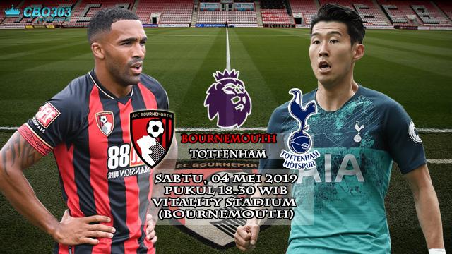 Prediksi Liga Inggris Bournemouth vs Tottenham Hotspur (4 Mei 2019)