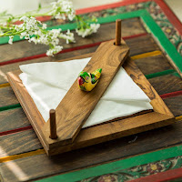 Simple Utility To Organise And Add Art To Your Table Top With Wooden Tissue Holders