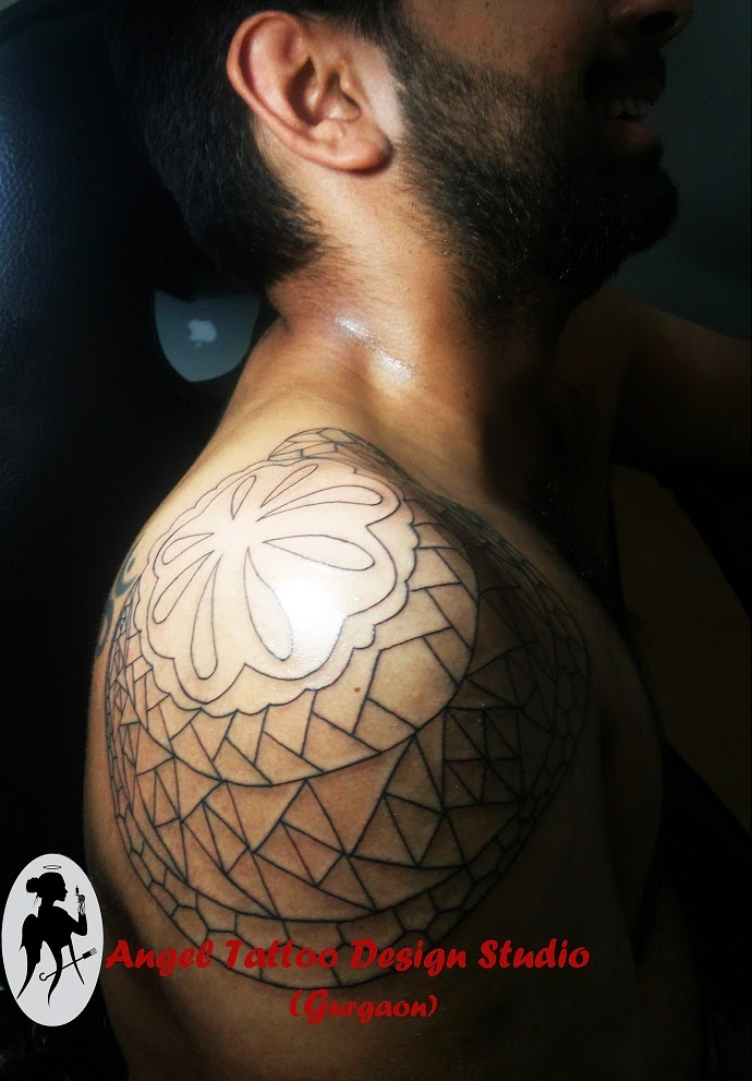 Tribal Tattoo Design, Shoulder Tribal Tattoo Design, Tribal-Tattoo-Design-For-Men