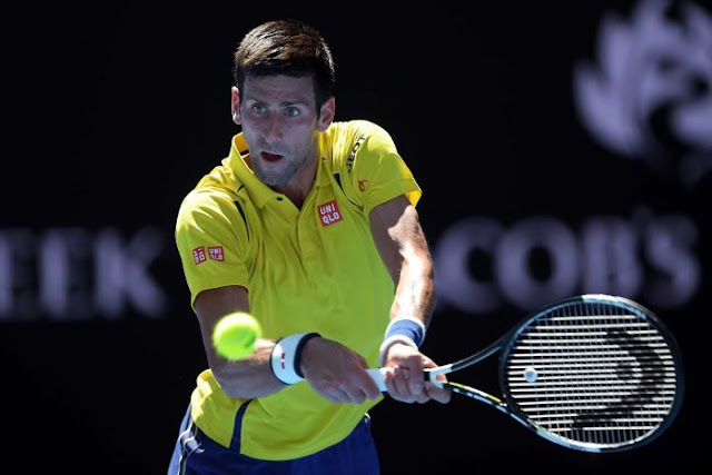 PHOTO: Fixing offer ... Novak Djokovic. (AAP: Lukas Coch)