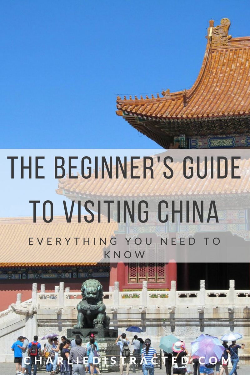 Tips for travelling in China