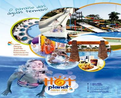 Setembro é no Hot Planet Thermas Park!