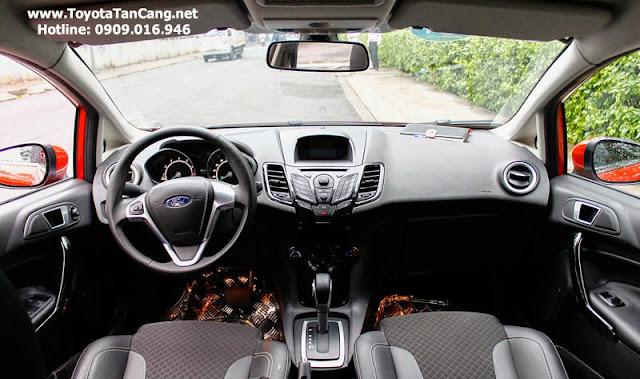 ford fiesta 2014 3 9313 - So sánh Ford Fiesta và Toyota Yaris : Ai là Vua xe Hatchback cỡ nhỏ - Muaxegiatot.vn