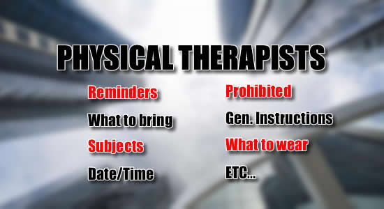Physical Therapist Licensure Exam: List of Reminders, What to Bring, Date, Time Subjects of Exam