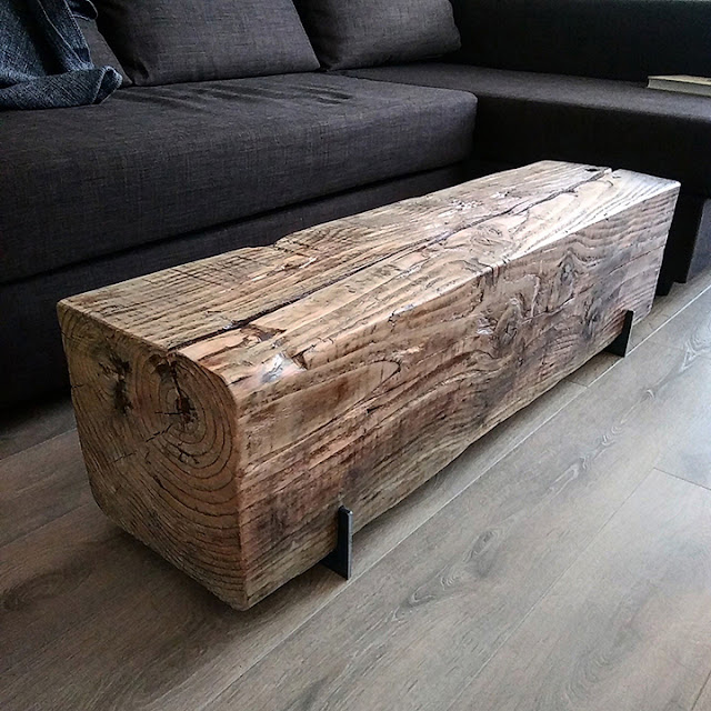 Large Beam Coffee Table
