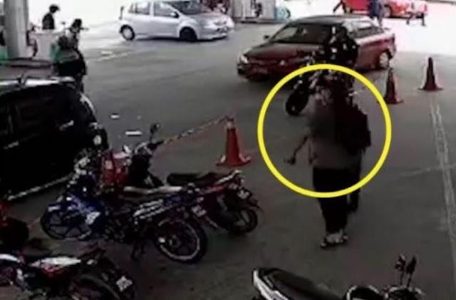 Video Viral, Hanya Salah Paham, Karyawan SPBU Pom Bensin Ini Dikeroyok 4 Orang Pria