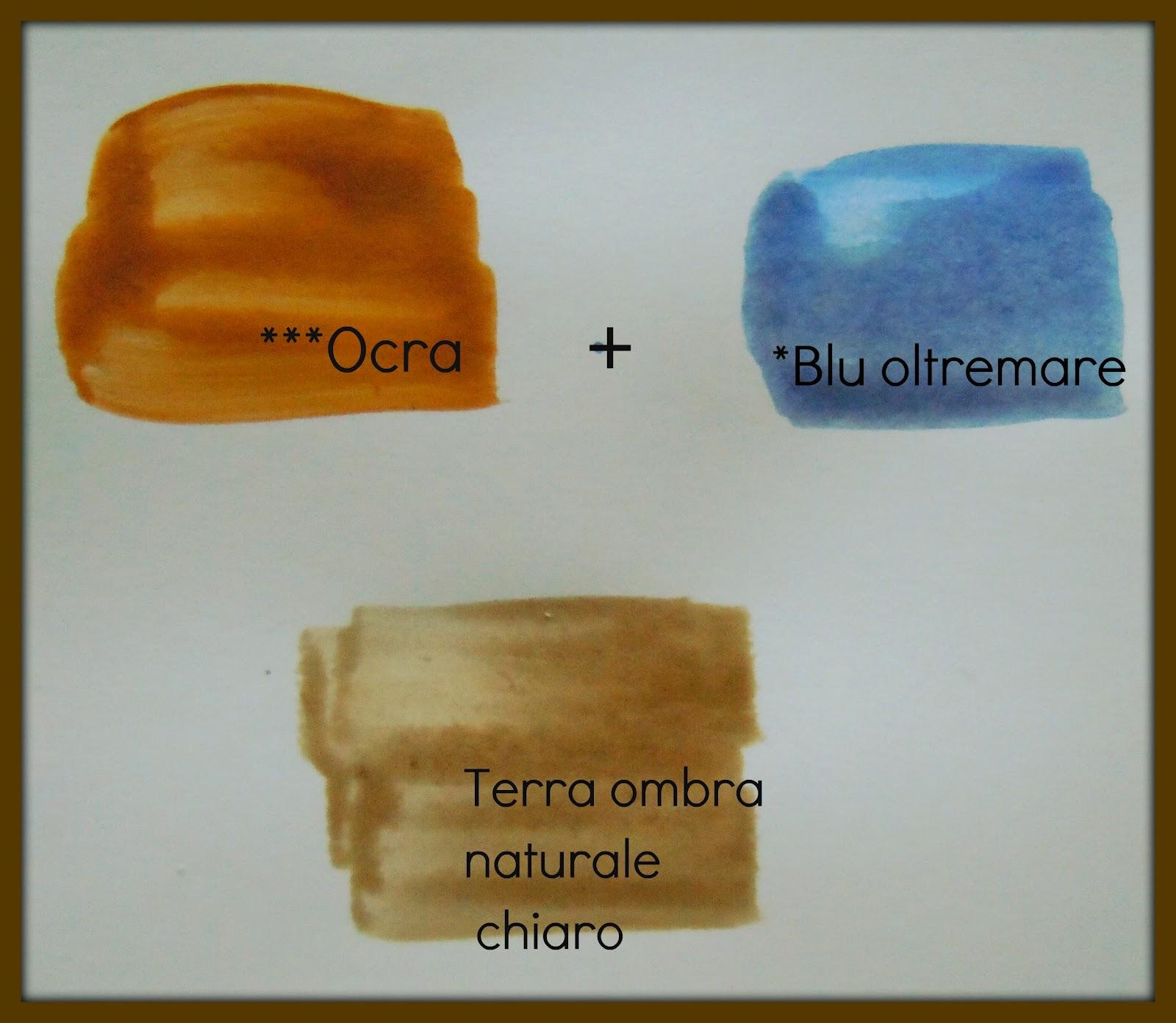 """Super Arte per Te"""": Come miscelate i colori per farne altri! LN13"""