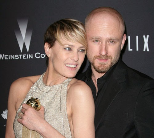 Separated Robin Wright and Ben