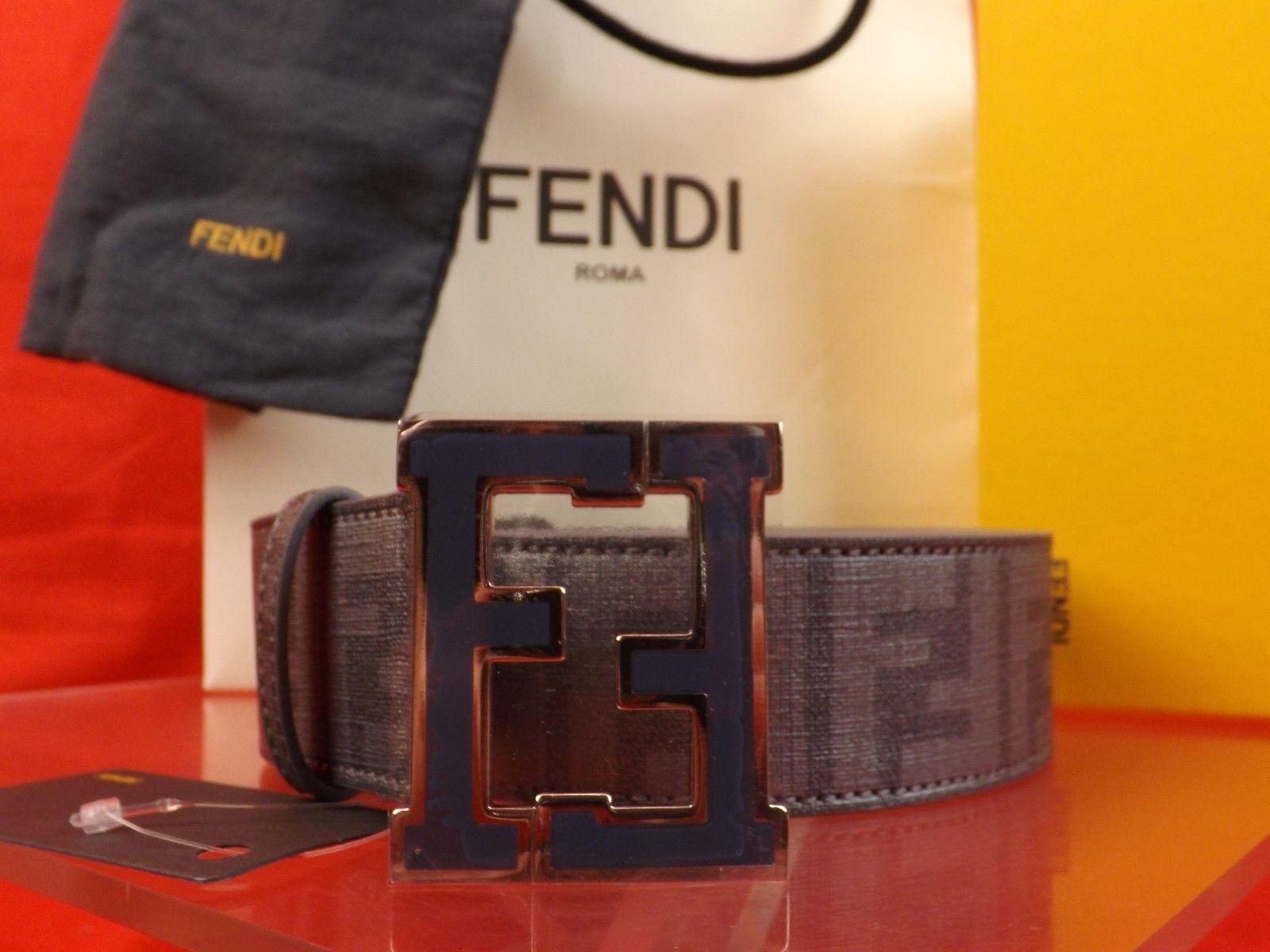 Fendi Belt Blue