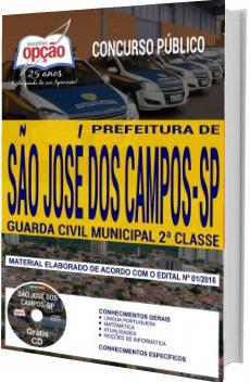 Apostila Prefeitura de São José dos Campos 2018