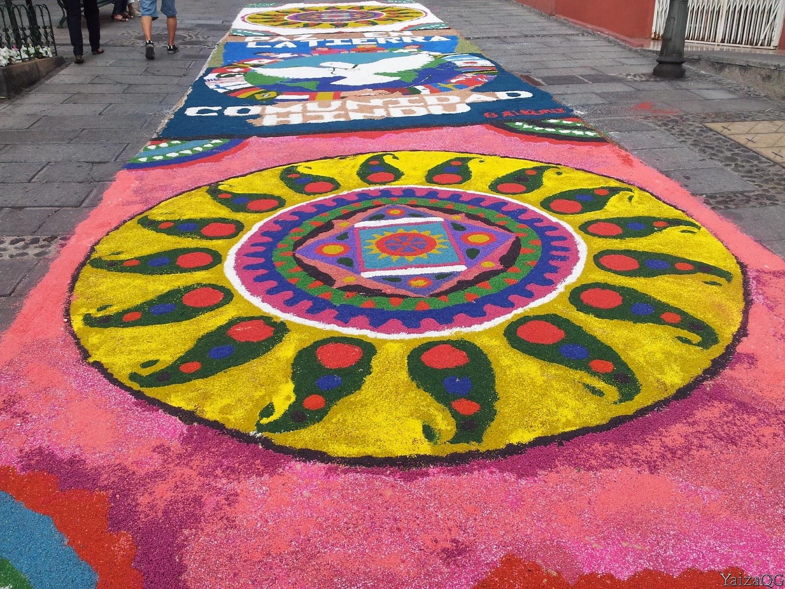 Andandoxtenerife Alfombras Del Corpus Christi The Carpets Of The