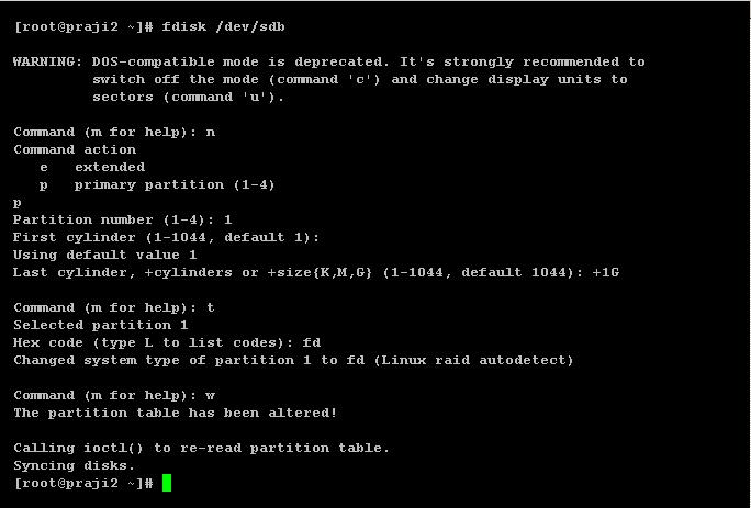 Raid configuration in RHEL 6   Linux Learnes