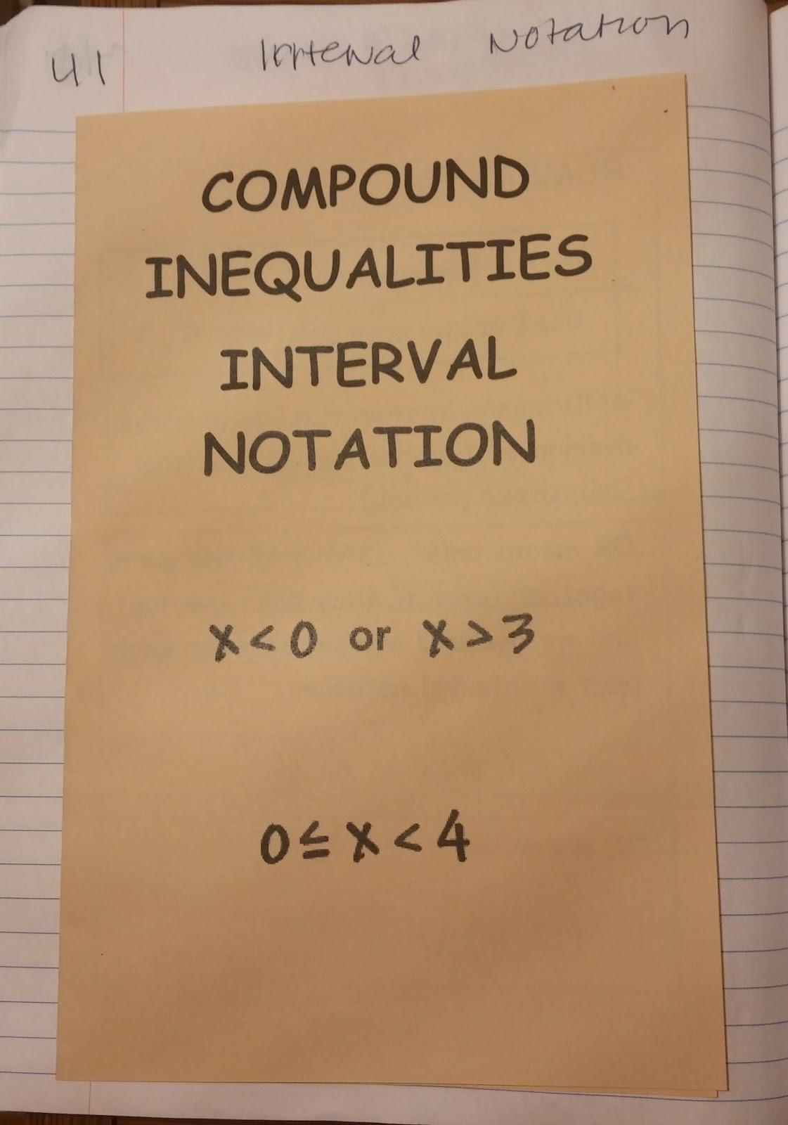 Beautiful Math Linear Inequalities