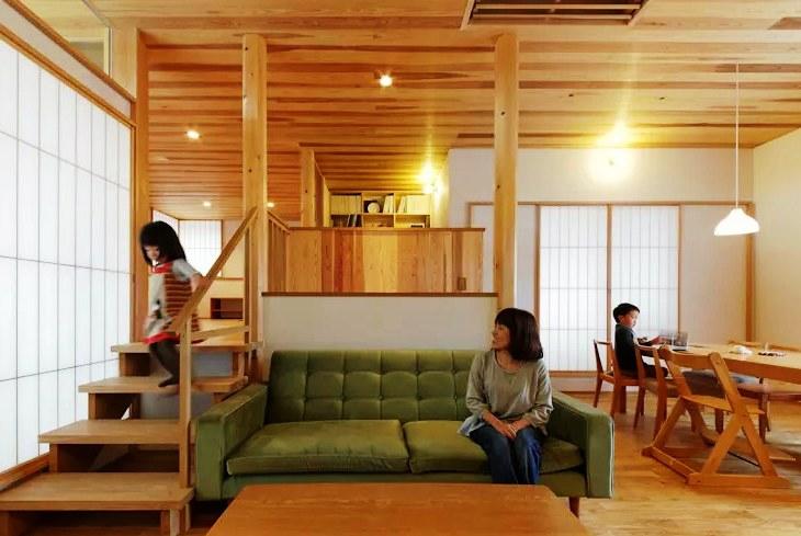 Desain Rumah Split Level Minimalis Elegan