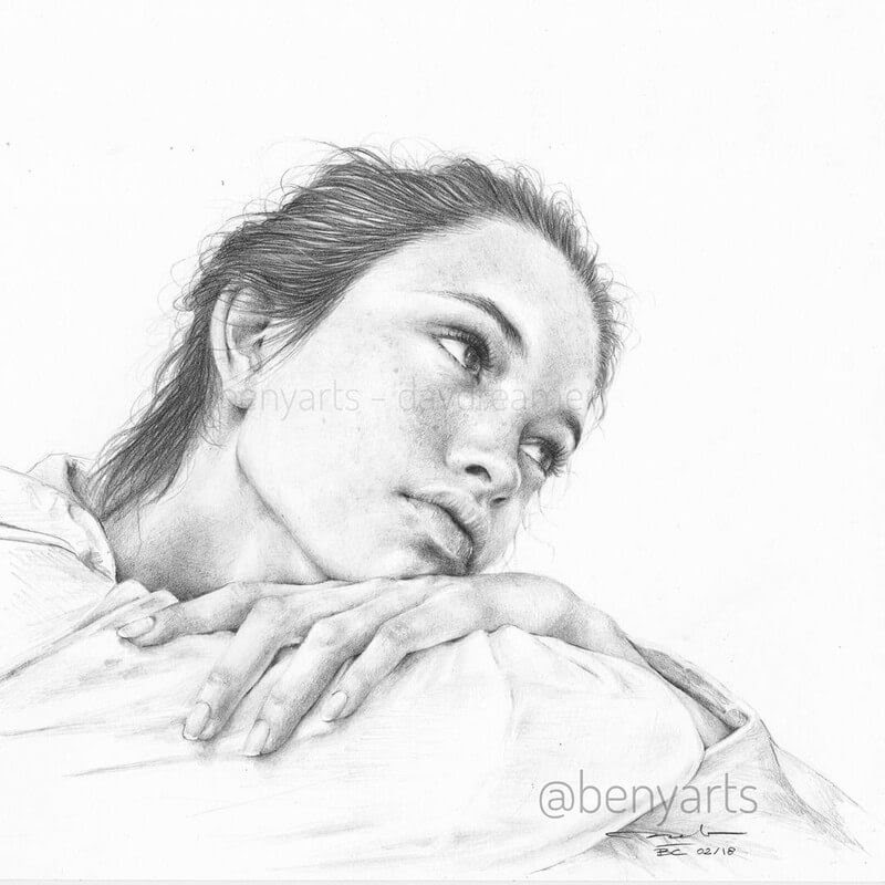 01-Benyarts-Expressions-and-Feelings-in-Graphite-Drawings