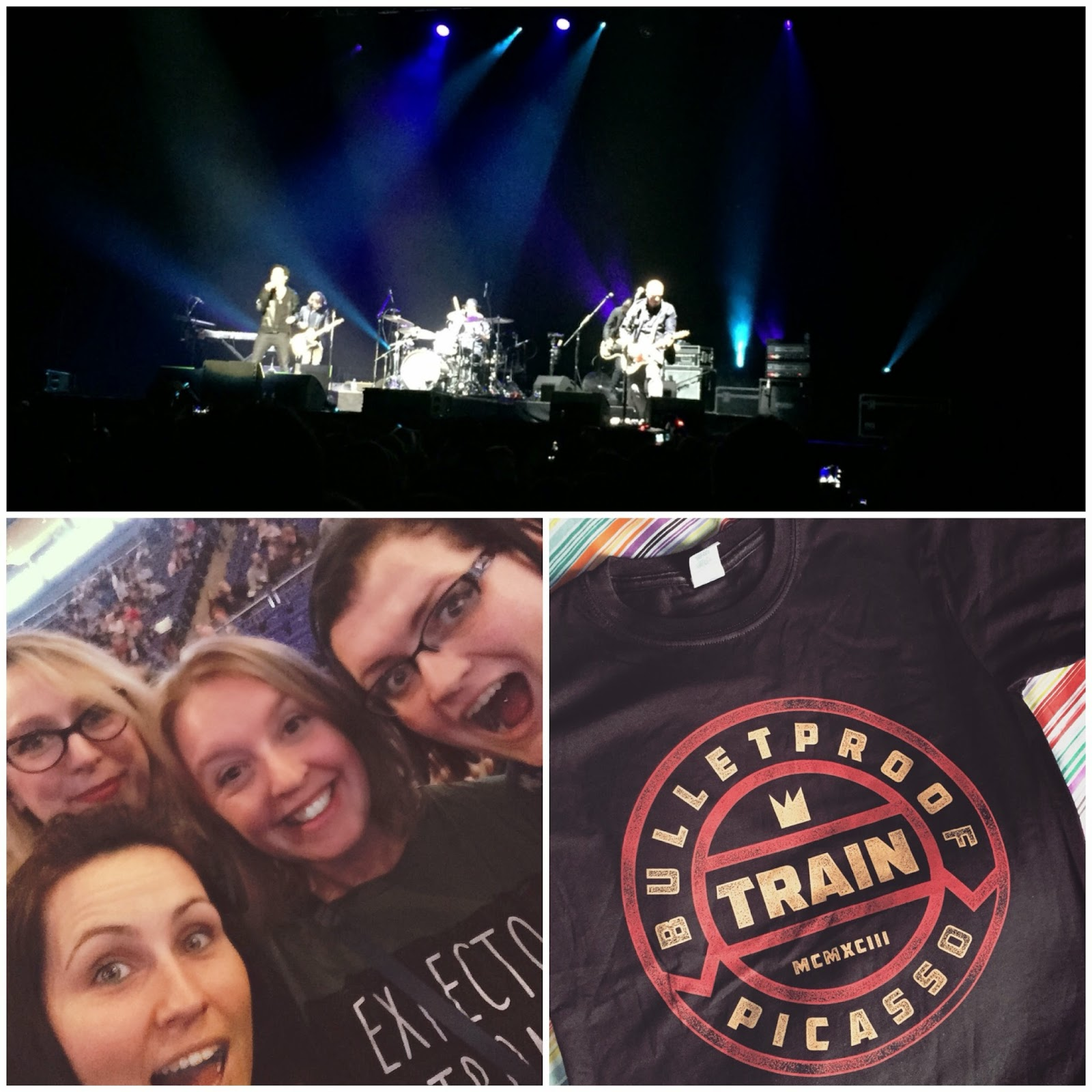 Train o2 London 2015 Tour
