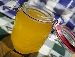 ghee (beurre clarifié) préparé fait maison