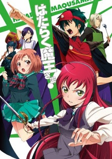Hataraku Maou-sama! BD Subtitle Indonesia Batch Episode 01-13