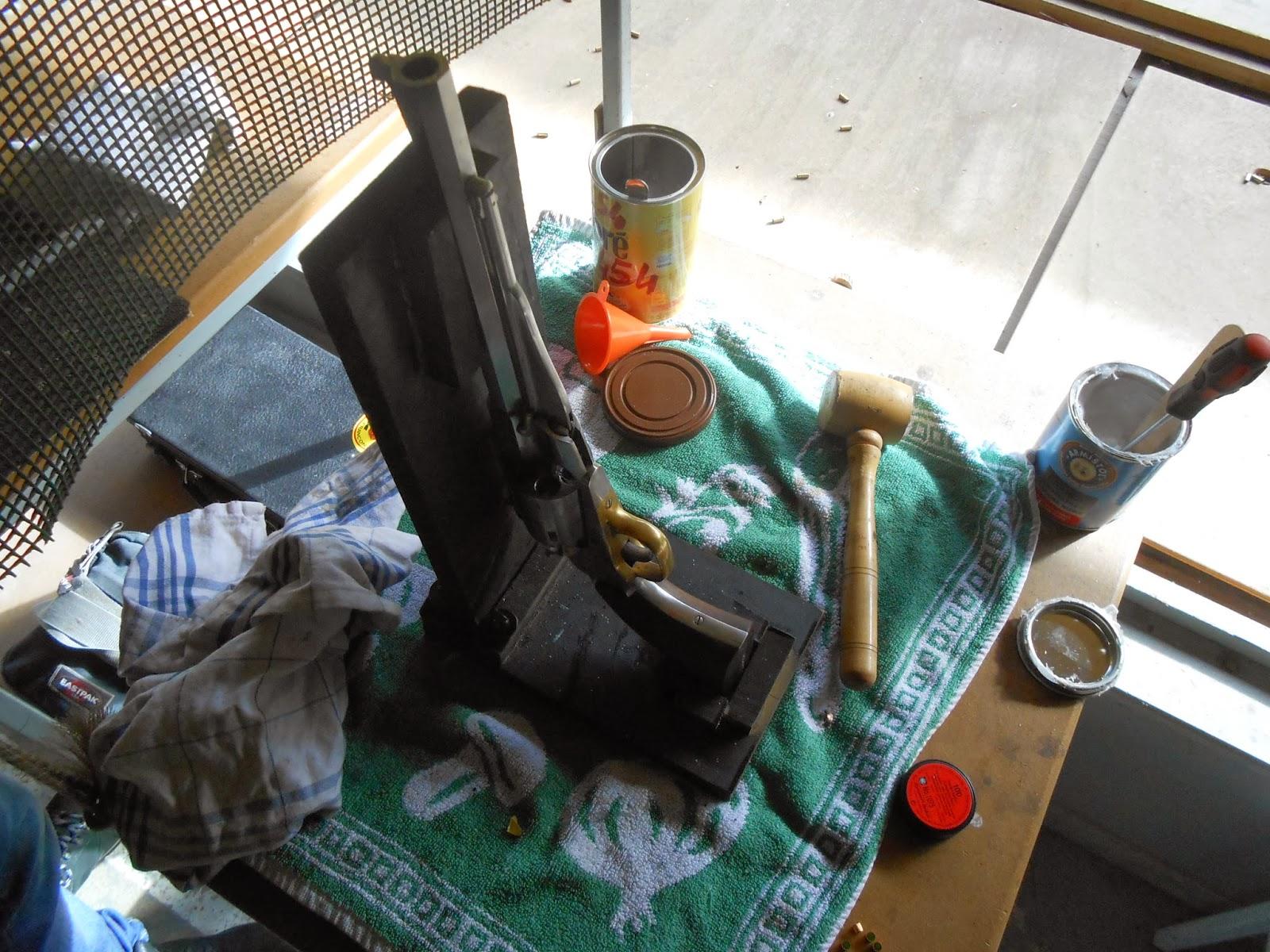 chargement arme poudre noire