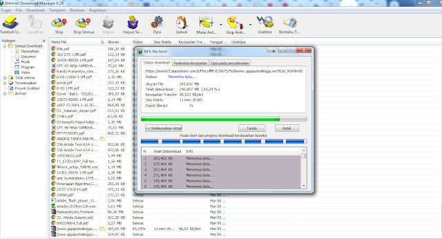 Cara Mudah Melanjutkan Download dari IDM Agar Tidak Mulai dari Awal