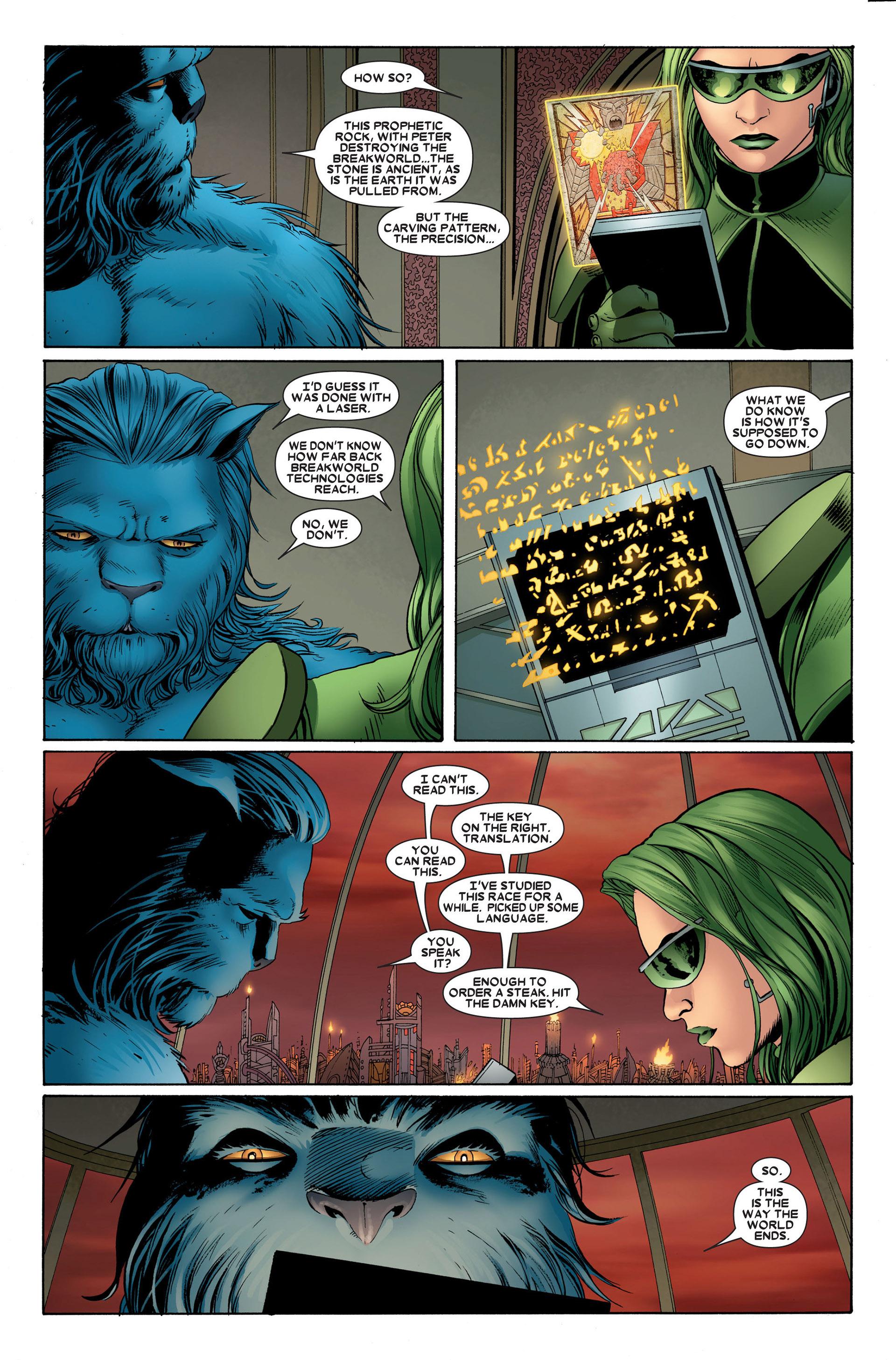 Read online Astonishing X-Men (2004) comic -  Issue #23 - 11